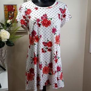 pinc Floral Summer Dress